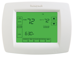 honeywell thermostat touchpro 8000