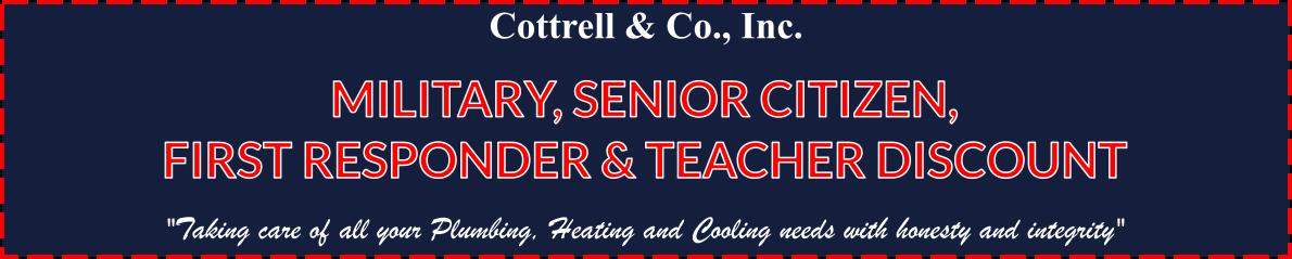 military-first responder-teacher-senior discount